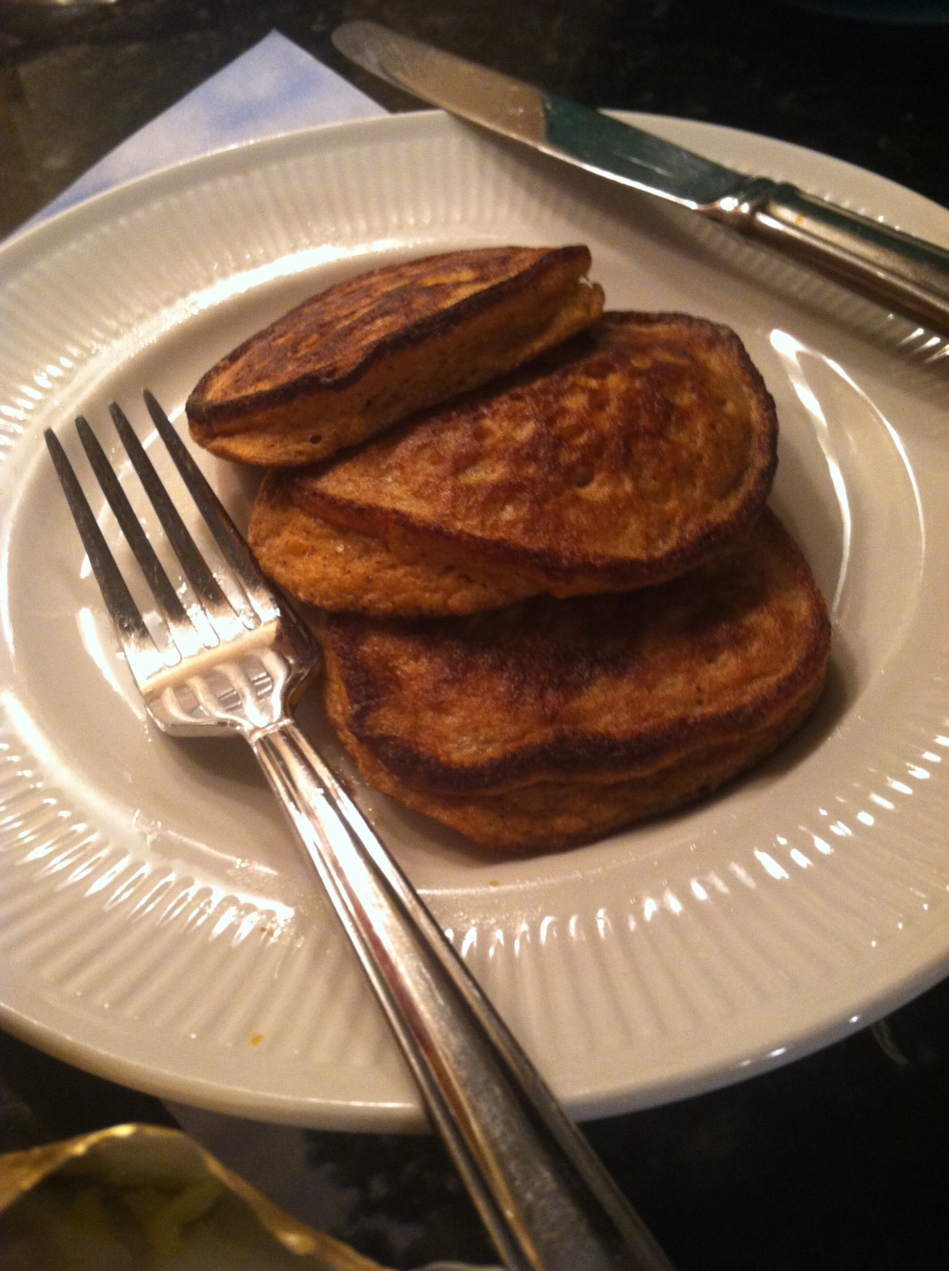 Quick Sweet Potato Pancakes – Charleen's Angels